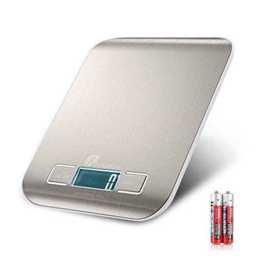 Houzetek Digital Kitchen Scale Scales Electronic Multifunction Food Precision For On