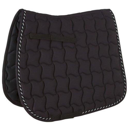Kerbl Multipurpose Saddle Pad Laguna Full Black 328643