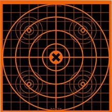 Birchwood Casey Big Burst 12-Inch Sight-In - 3 Revealing Targets