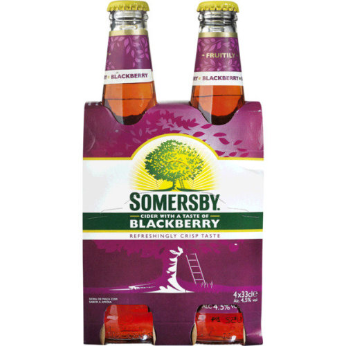 Cider Somersby Blackberry - Pack 16x33cl