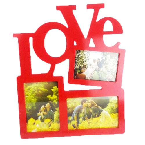 """LOVE"" shaped Frames/Creative Photo/Album Frame/ Nursery Picture Frames"