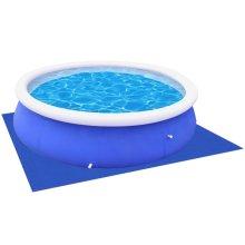 vidaXL Pool Ground Cloth/Sheet for Round Pools 360 /367 cm