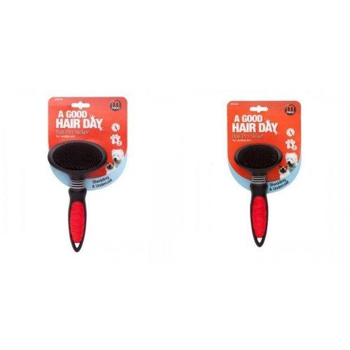 Mikki Ball Pin Slicker Brush