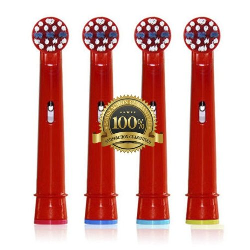 Dr. Kao For Oral B Toothbrush Heads for Kids Replacement Toothbrush Heads Kids Electric Toothbrush Heads for Children for Oral B Replacement Heads...