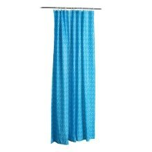 Mosaic Shower Curtain, Blue