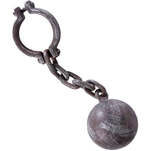ball chain realistic look accessory for prisoner convict jail