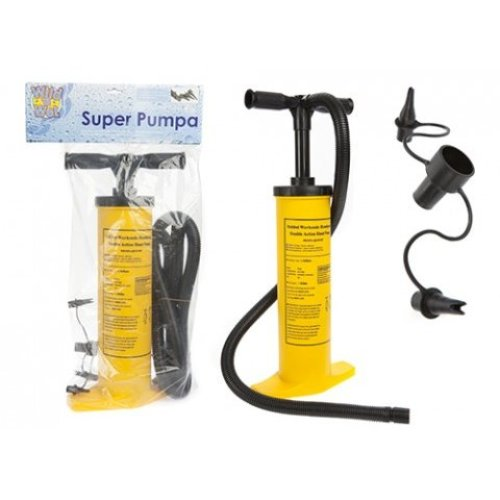 2ltr Jumbo High Quality Stirrup Pump With 4 Attachments - Air Inflatables 2l -  pump air inflatables 2l stirrup new hand camping beds wild wet jumbo