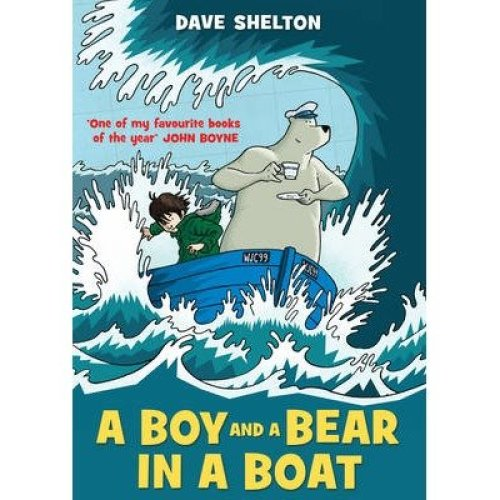 A Boy and a Bear in a Boat