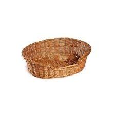Small Oval Wicker Pet Basket