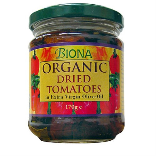 Biona Organic Dried Tomatoes in Extra Virgin Olive Oil 170g