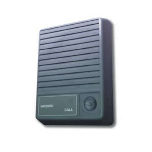 Talkback Doorplate Surface Speaker Gray