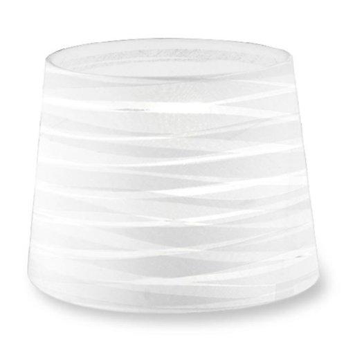 Dress Up Tapered Round Textured White Finish Shade - LEDS-C4 PAN-219-14