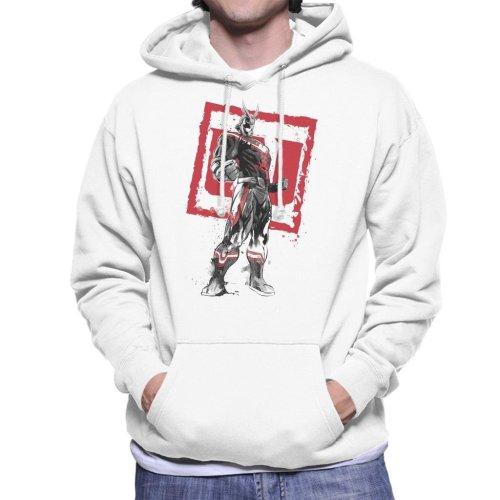 All Might Sumi E My Hero Academia Men's Hooded Sweatshirt