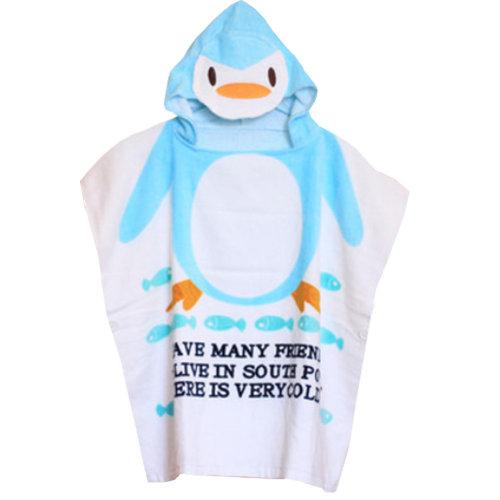 Cute Baby Towel/ Bath Towel/Baby-Washcloths/BABY bathrobe,Lovely Penguin