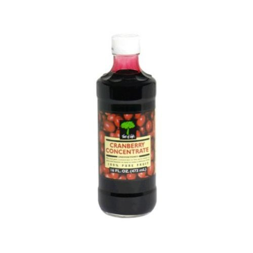 Cranberry Concentrate Unsweetened Juice 16 Ounces