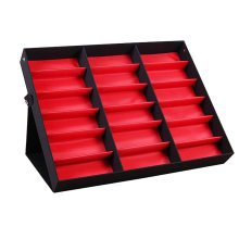 Eyeglasses Display Tray Sunglasses Holder Storage Case – 18 Compartments-A3
