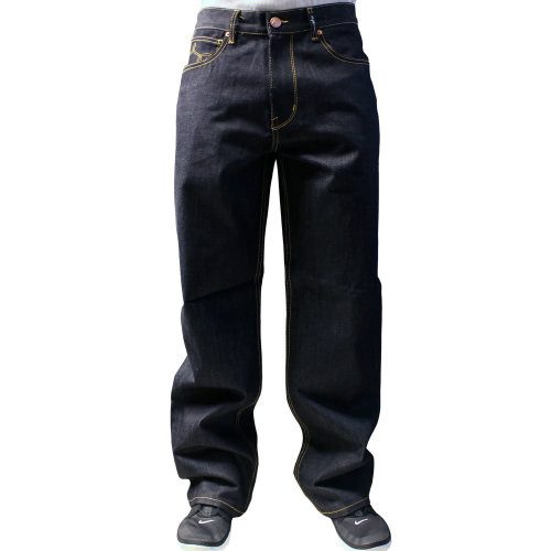 Lrg Core Collection C47 Flap Pocket Jeans Raw Indigo