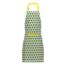 100% Cotton Ella Apron - Green