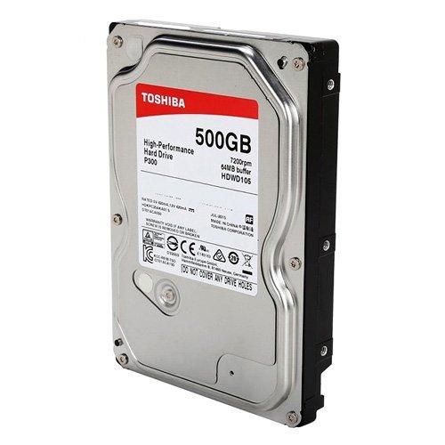 500Gb Toshiba P300 SATA3 32MB Cache Hard Drive