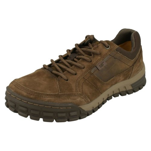 Mens Caterpillar Walking Shoes Sentinel - Cub Leather - UK Size 6 - EU Size 40 - US Size 7