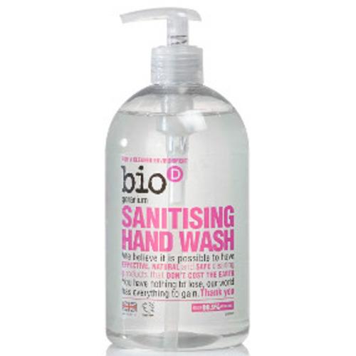 Bio-d Hand Sanitiser Geranium 500ml