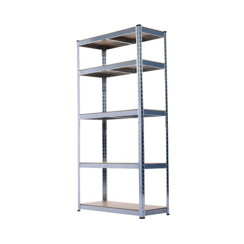Homcom 5-Tier Shelving Unit | 5 Shelf Metal Storage Rack