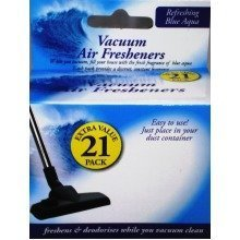 21pack Vacuum Scented Air Fresheners Hoover Blue Aqua Dust Bags Filters Sticks Vac Freshner Cleaner