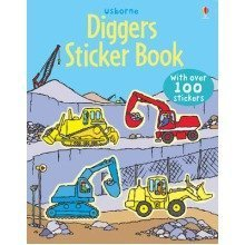 Diggers Sticker Book