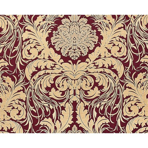 EDEM 9017-35 Baroque wallcovering wall glittering red wine red 10.65 sqm