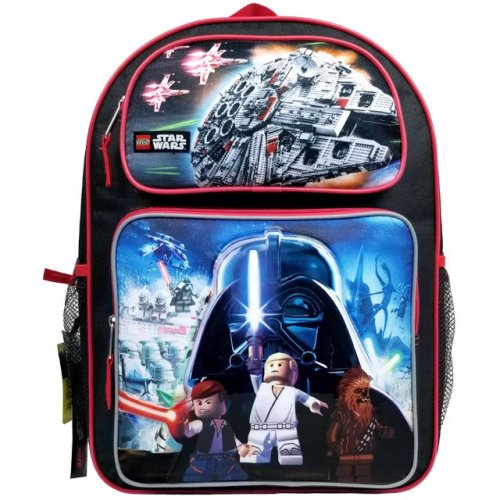 Backpack - Lego Star Wars - Black New SLCF16