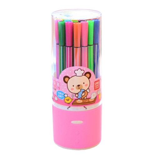 Set of 24 Color Pen Colour Marker Fine Point  Mark Pen Color Set, Colorful NO.7