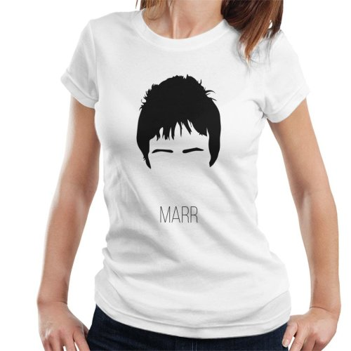 Johnny Marr Music Icon Silhouette Women's T-Shirt