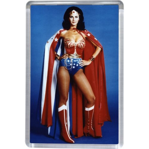 Wonder Woman Cape - Lynda Carter Fridge Magnet