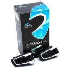 Cardo Scala Rider PackTalk Bold Duo Motorcycle Bluetooth Handsfree with DMC Technology BTSRPTBD