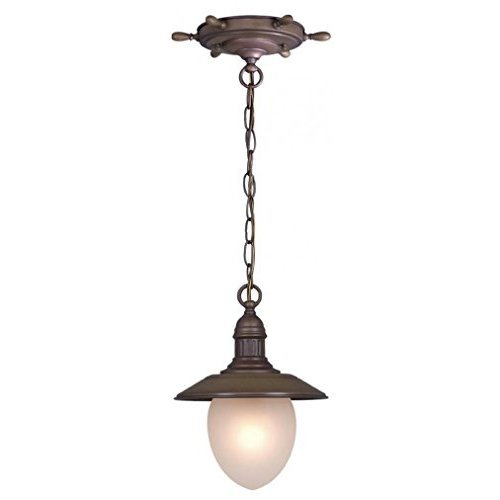 Vaxcel PD25509RC Orleans 9 Inch Pendant Antique Red Copper