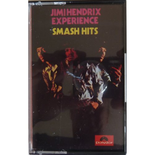 JIMI HENDRIX EXPERIENCE. SMASH HITS. ORIGINAL 1967 AUDIO CASSETTE TAPE WITH PAPER LABELS. POLYDOR ACBC 00219 [Audio Cassette] Jimi Hendrix Experience