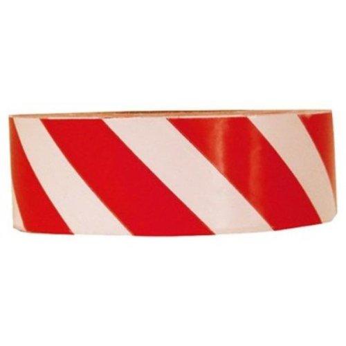 C H Hanson 214568 17025 Red & Wht Tripe Flag Tape