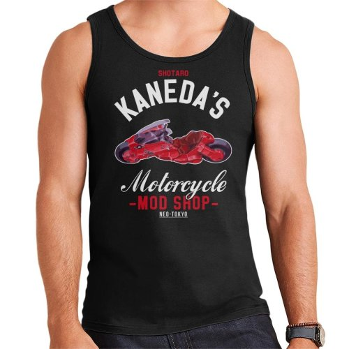 Academies Akira Shotaro Kanedas Motorcycle Shop Men's Vest