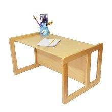 Obique Multifunctional Furniture 1 Large Table Beech Wood, Natural