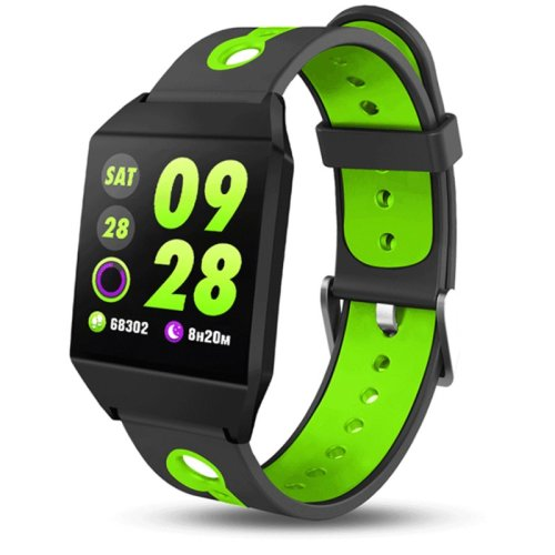 XANES W1 1.3'' IPS Color Screen GPS Smart Watch Waterproof Pedometer Heart Rate Monitor Blood Pressure Smart Bracelet Wristband