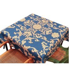 Creative Retro Blue And White Pattern Cotton Tablecloth/Tea Table Clothes