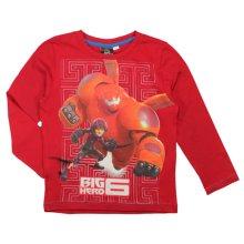 Big Hero 6 Long T Shirt - Baymax Red