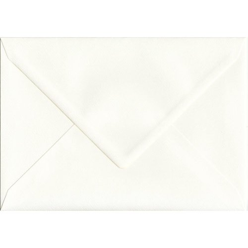 Ivory Silk Gummed C5/A5 Coloured Ivory Envelopes. 110gsm GF Smith Accent Paper. 162mm x 229mm. Banker Style Envelope.