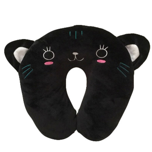 Set Of 2 Cute U Shaped Home/Office Healthy Neck Pillow Travel Neck Pillow,Cat