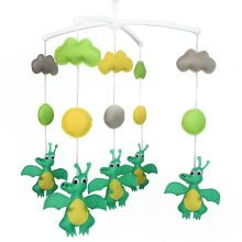[Cute Animals]Unique Nursery Mobiles, Colourful Hanging Music Mobile, Beautiful